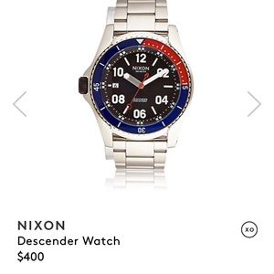 RT $400 Nixon Descender